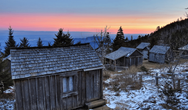 LeConte Lodge | Mt. LeConte | Great Smoky Mountains National Park | Log  Cabins | The Smokies | Cabins | Llamas | Trillium Gap Trail | Grotto Falls  | Alum ...